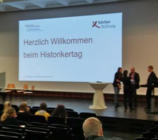 Thumbnail zu WDR begleitet AMG-Schüler beim Historikertag